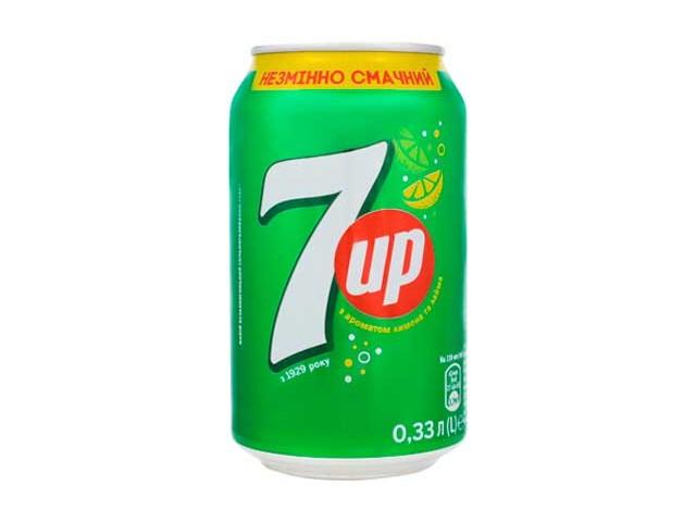 7 UP з/б 0,33л